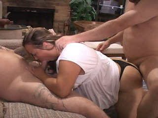 BBW Mammy Got Butt Fucked And Double Penetrated