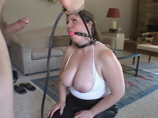 Lamentable Big Titty Mom Pays Will not hear of Debt In all directions Anal