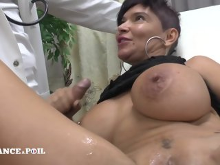 La France A Poil - Oustandingly Boobed Squirt Milf Hard Banged