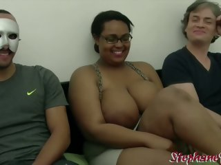Kh4ti4 - French Cabo Verde BBW Wants a Interracial Triptych