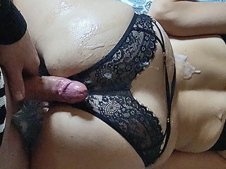 PAWG MILF Cum Unperceived Bonking + Cumshot on Orgasm Goosebumps