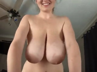 Nurturer with huge tits