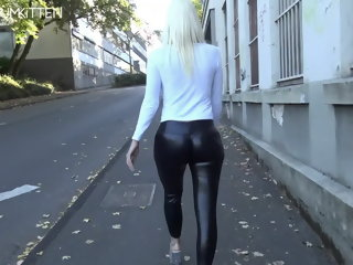 Lara CumKitten -  SPERMAWALK AND LEGGINGSWALK