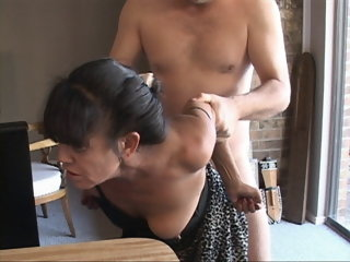 I Turned My Tiny Mexican Granny Maid Buy an Anal Slave