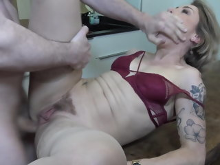 Female parent gets inexact anal sex outlander son